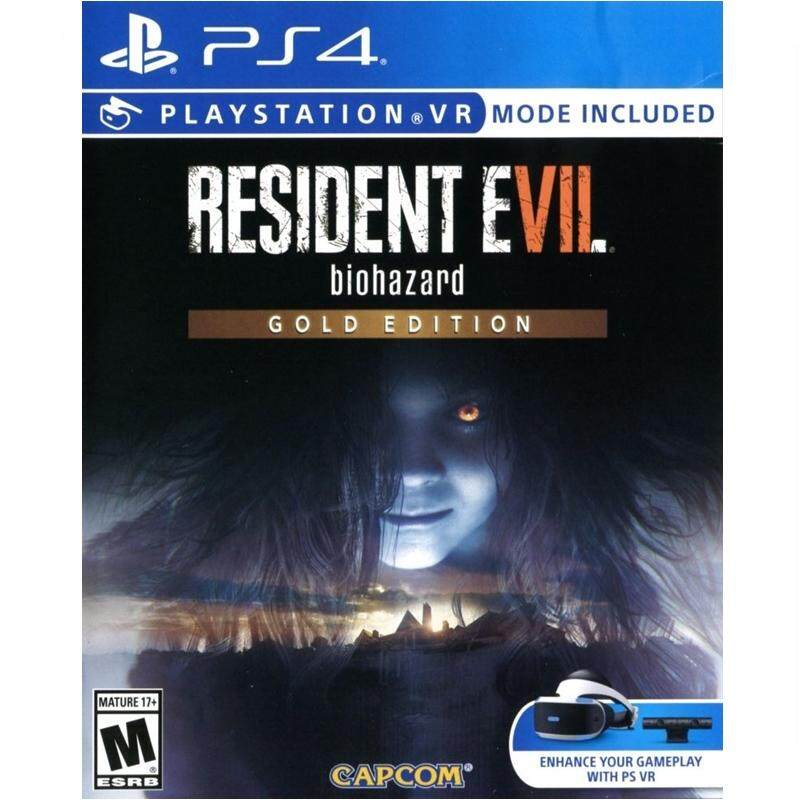 PS4 Redident Evil 7 Gold Edition (Zone 3)