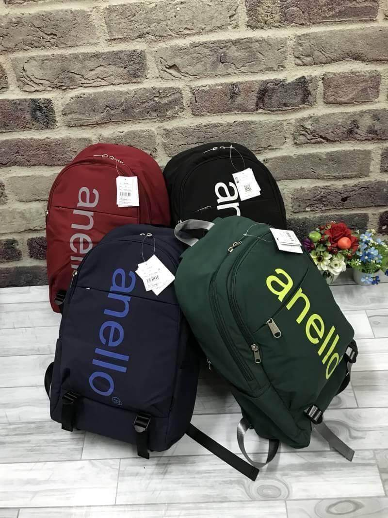 ยะลา New Collection 2018!! Anello Big Logo Print Daypack