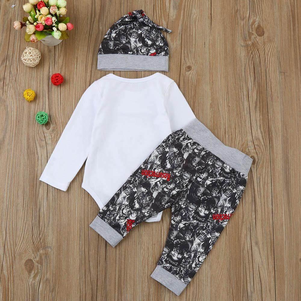 Tideshop Bayi Bayi Baru Lahir Anak Laki-laki Huruf Atasan Baju Anak . 1fbbb8d080