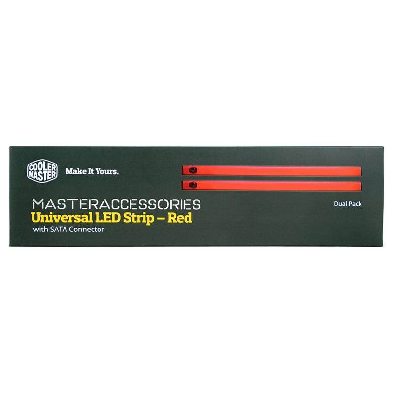 Cooler Master MasterAccessory Universal LED Strip - Red