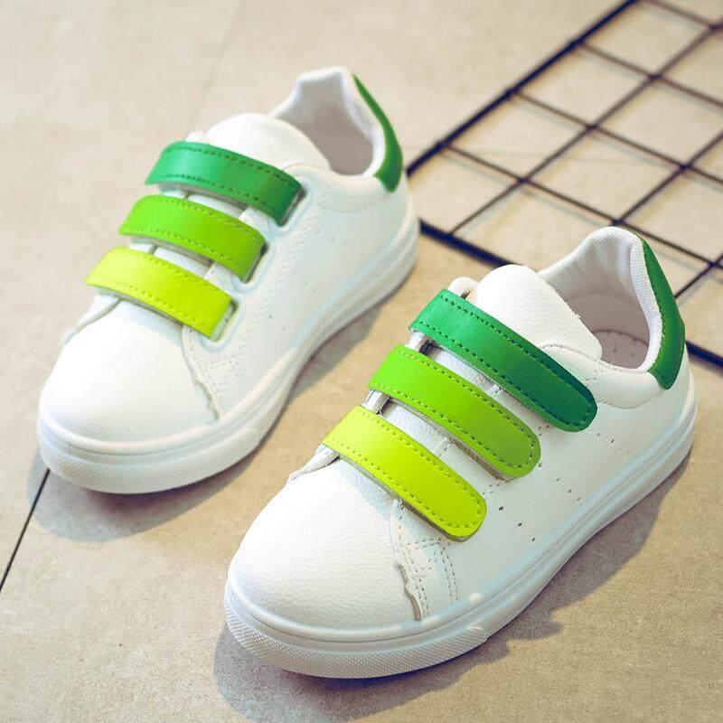 Anak-anak sepatu putih kecil 2018 musim semi dan musim gugur model baru Sepatu anak