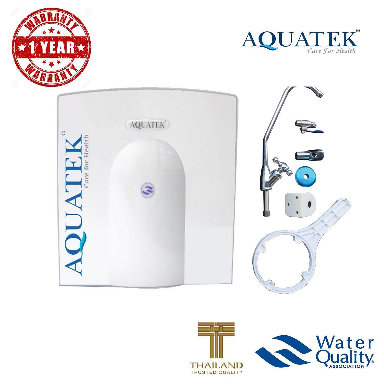 ซื้อ Aquatek Usa เครื่องกรองน้ำ รุ่น Am100 ระบบ Uf ความละเอียด 01 ไมครอน รับประกัน 1 ปี ใหม่