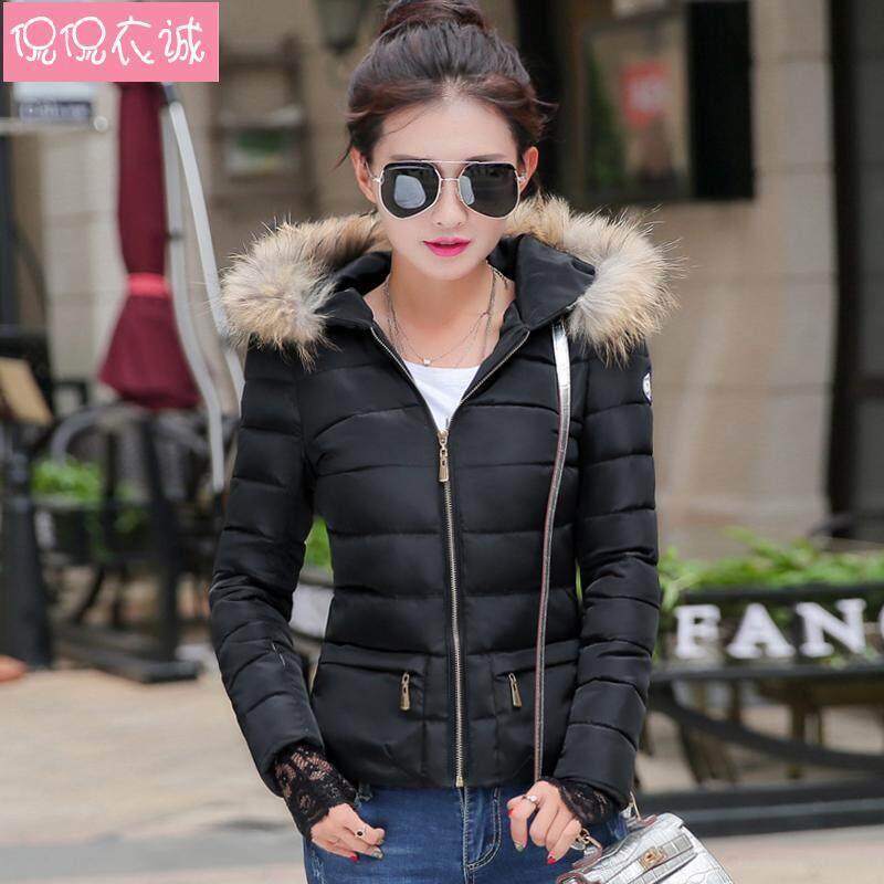 ... 2018 pakaian musim dingin model baru baju katun pakaian katun jaket  wanita membentuk tubuh model pendek e2273e94ec