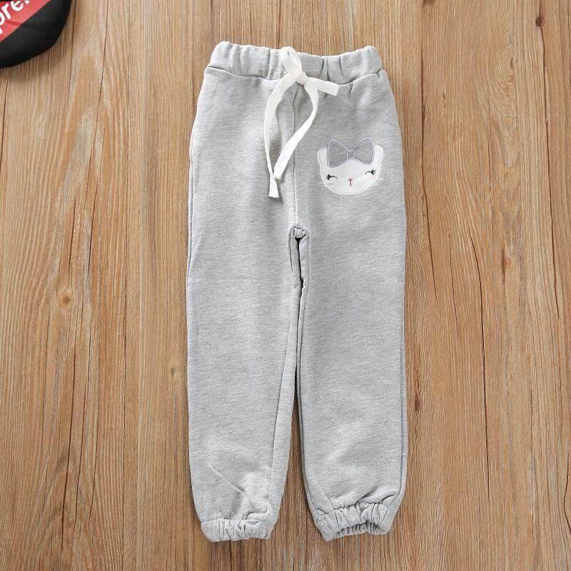 Celana Olahraga Anak Kecil Catmi Celana Panjang Casual Katun Murni