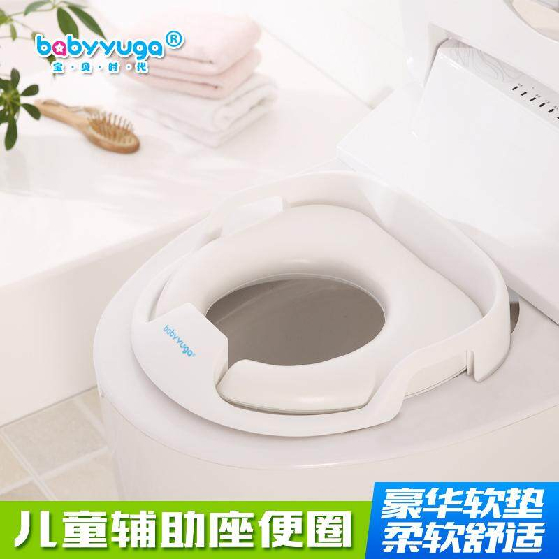 Toilet For Kids Toilet Seat Men And Women Baby Toilet Extra-Large, Toilet Cover Soft Throw Pillow By Taobao Collection.