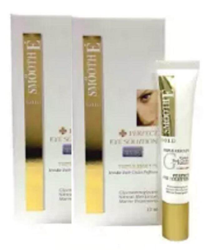 SMOOTH E Gold Perfect Eye Solution 15 ml2 หลอด
