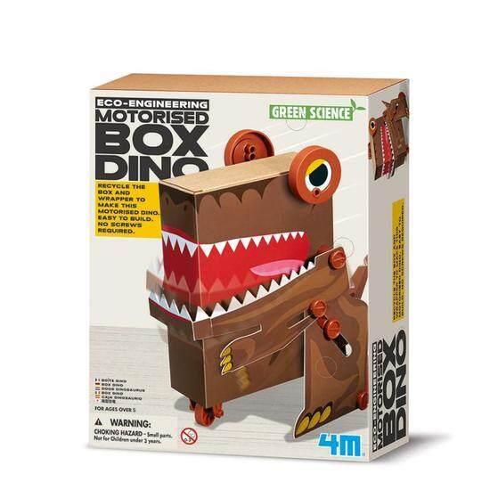 ของเล่น 4M Eco Engineering - Motorised Box Dino