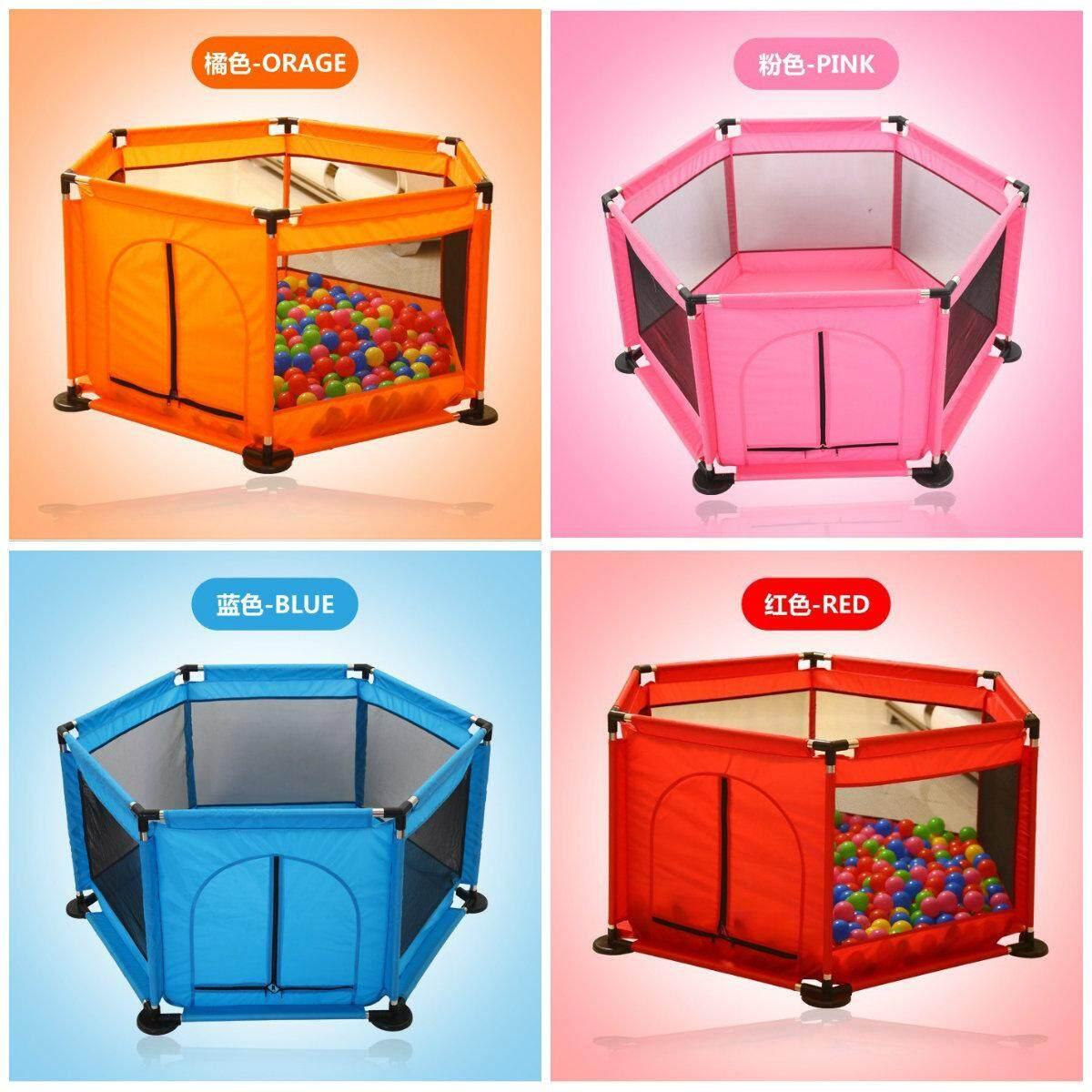 ซื้อที่ไหน คอกกั้นเด็ก บ่อบอล PLAYPEN 6 เหลี่ยม 6 ด้าน (HEXAGON BABYS PLAYPEN) ราคา ของแท้