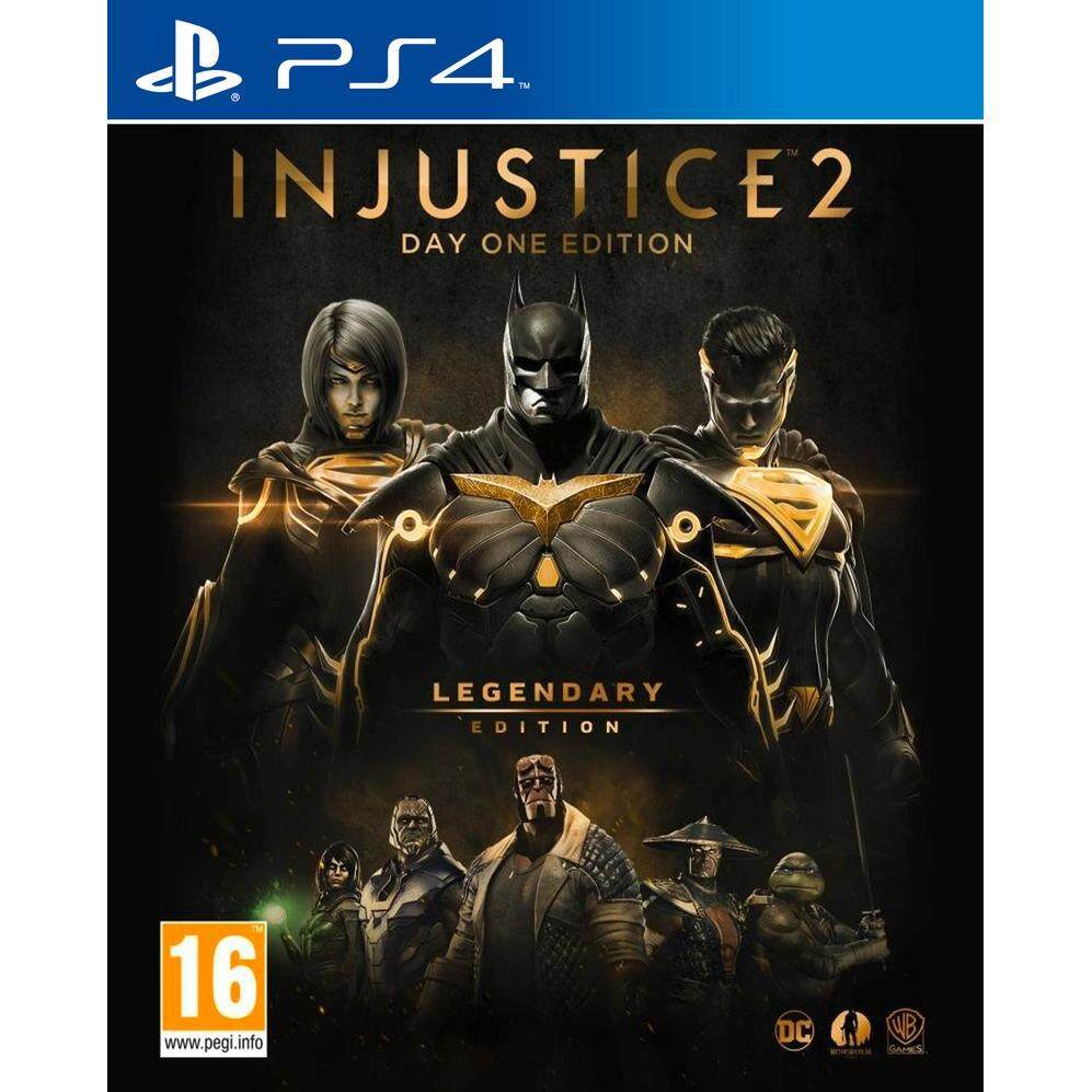 ps4 injustice 2 day one edition legendary edition ( engligsh zone 3 )