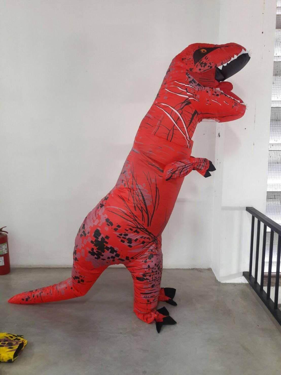 มาสคอต ไดโนเสาร์ ใส่แกล้งเพื่อนสนุก หรือใส่งานปาร์ตี้สร้างสีสัน.