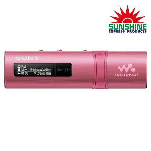 Sony เครื่องเล่น MP3 รุ่น NWZ-B183F/PCE (สีชมพู) RAdio IC Audio Player
