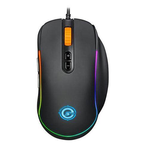 Neolution Mouse Gaming Nemesis RGB 8D Macro Black Matte