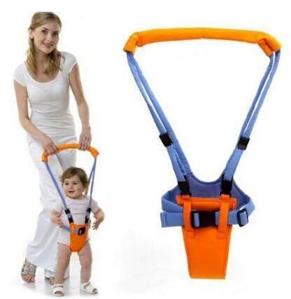 Oranye Bayi Berjalan Asisten Belt Sayap Harness Leashe Baby Walker Latihan Penjaga Aman Sling Tali Belajar
