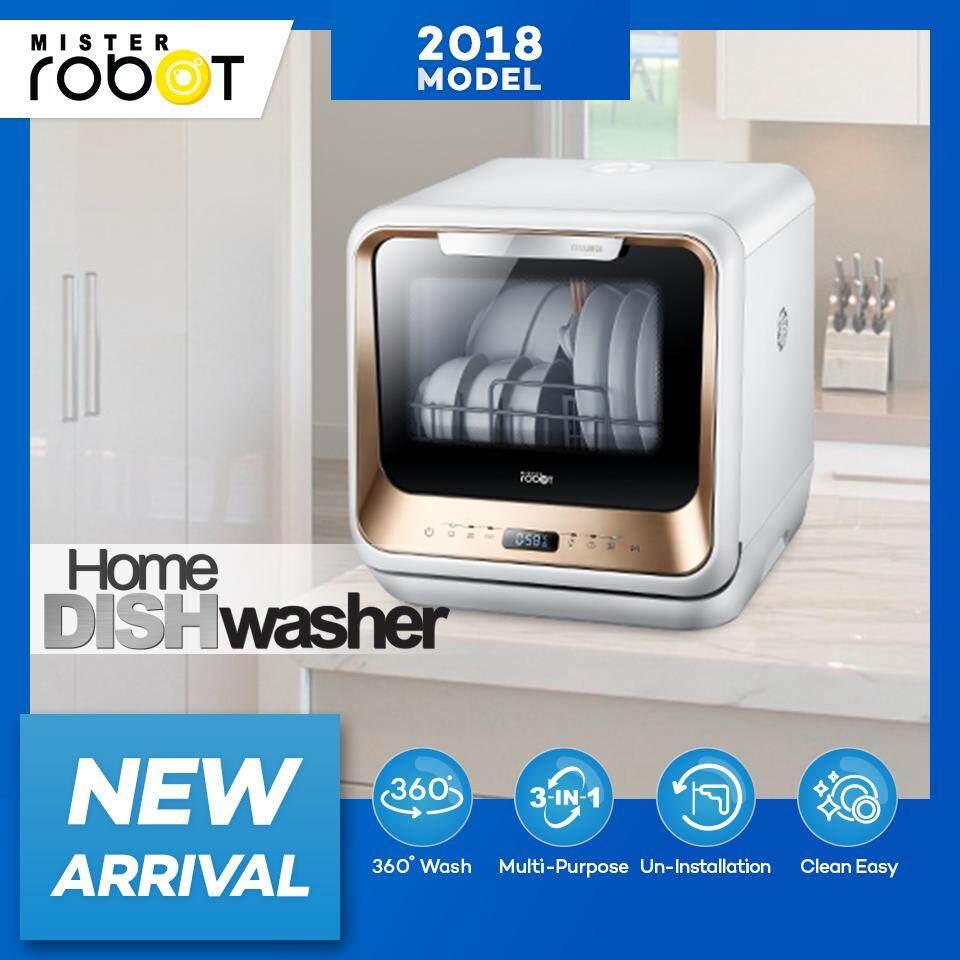 Mister Robot เครื่องล้างจาน Home Dish Washer.