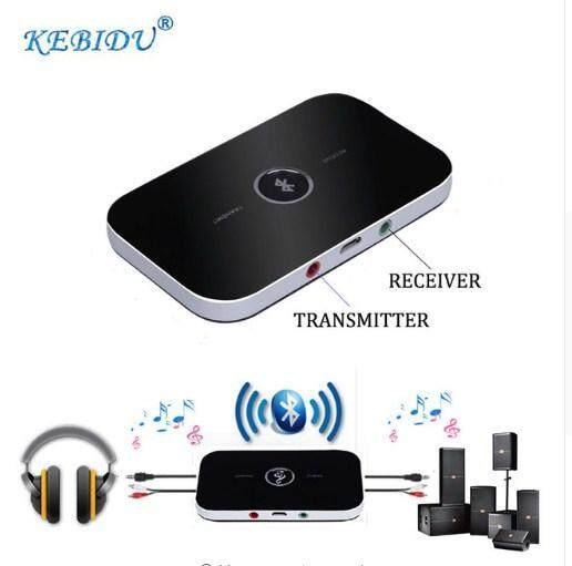 Wireless 2 In 1 Audio Receiver Transmitter กล่องรับ ส่งสัญญาณ บลูทูธ โหมดWireless Audio Adapter For Tv Home Stereo System Headphones Speakers ใหม่ล่าสุด