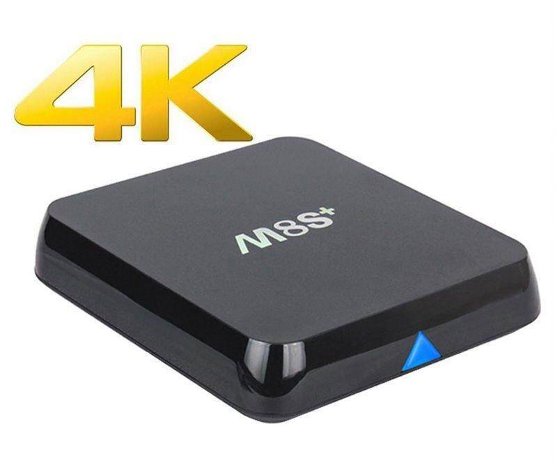 ยี่ห้อไหนดี  ยโสธร MXQ M8S+(PLUS) Super Android TV Box Quad Core Support 3D-4K High Performance Speed Kodi 14.2 WiFi Bluetooth Remote Control Smart IPTV