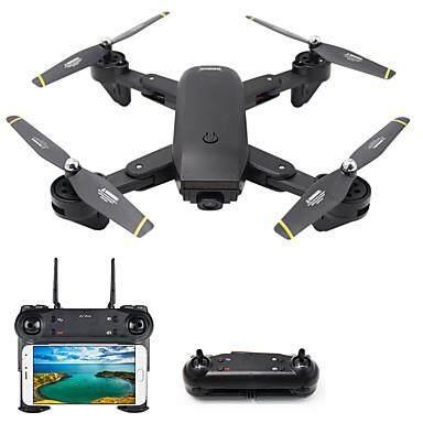 Drone Quadcopter โดรนถ่ายภาพ โดรนพับได้ โดรนของเล่น โดรนติดกล้อง บันทึกวิดีโอ ได้คมชัด 2 ล้านพิกเซล โดรน รุ่น Dm107s (รุ่นท๊อบสุด 2018 มี Optical Flow Sensor).