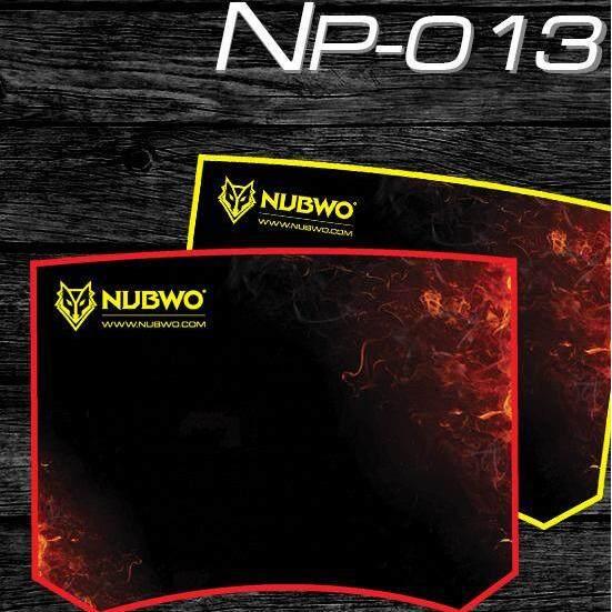Nubwo แผ่นรองเมาส์ Mouse Pad (แบบผ้า) Nubwo Np013.