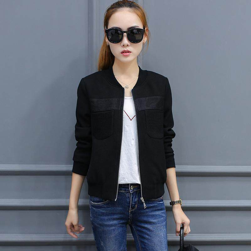 Coat Female Spring And Autumn Korean Style Loose 2019 New Style Leisure Short Students Small Coat Long Sleeve Jacket Baseball Uniform Fashion By Taobao Collection.