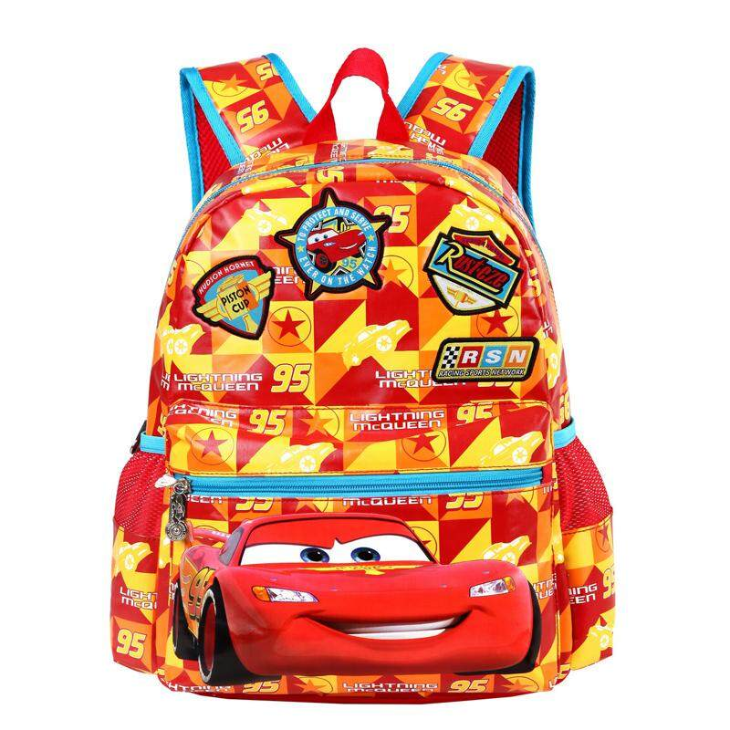 d441365b95 Disney School bag bags Young Student s man 1-3 Grade Girls Cartoon Backpack  6-