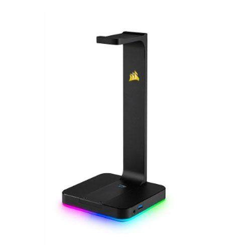 CORSAIR (ที่แขวนหูฟัง) HEADSET STAND (7.1) ST100 RGB