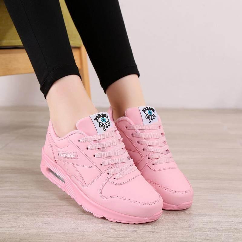 Giá bán Cô Gái Giày Cotton Mùa Đông 2017 Mẫu Mới Dày Nhung Ấm Áp 10 Tuổi Học Sinh Tiểu Học Giầy Thể Thao 12 Trẻ Em Giày Nữ