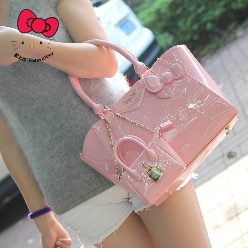 2018 item baru hello kitty tas bahu dengan satu tali tas tangan hello kitty  Selempang tas d0d70e69f2
