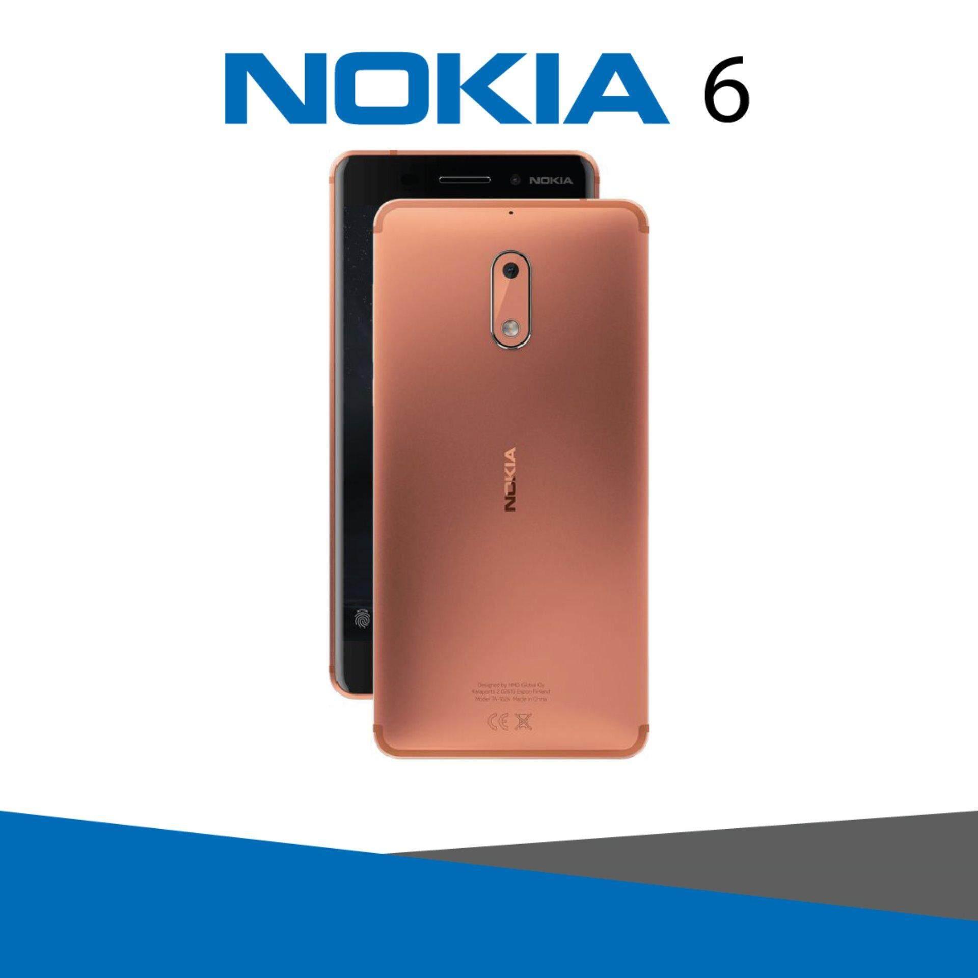 """NOKIA 6 เครื่องศูนย์ไทย 5.5"""" Full HD Ram 3 GB / Rom 32 GB"""