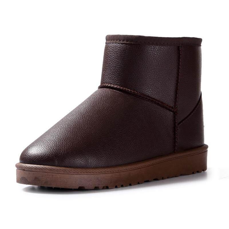 Harga pasangan boots salju korea fashion style musim dingin sepatu katun tambah beludru lebih | HARGALOKA