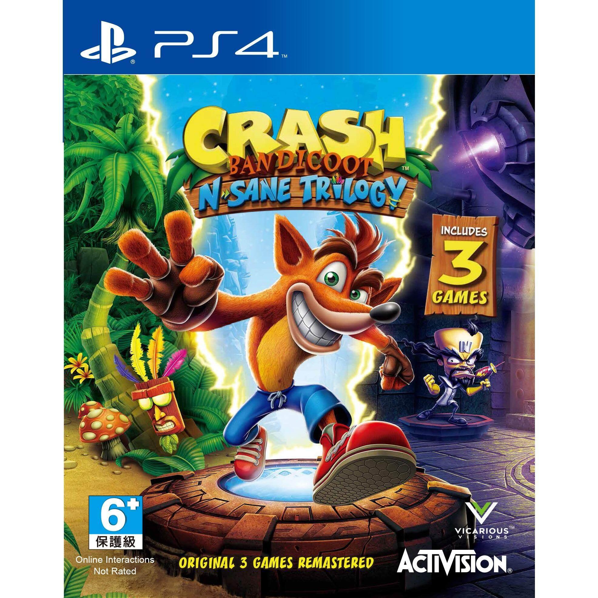ps4 crash bandicoot n sane trilogy ( english zone 3 )