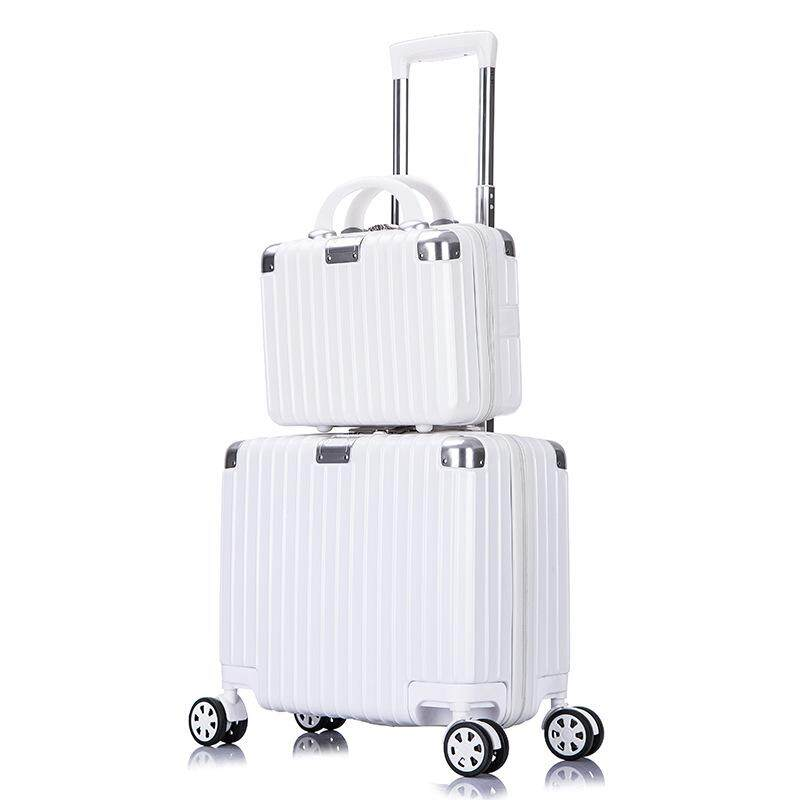 1 Pcs/set 18 Trolley Luggage Universal Wheel Travel Box