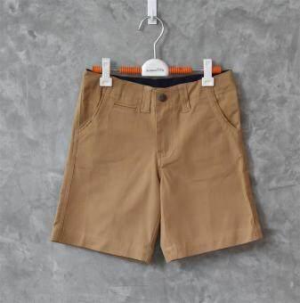 ลดกระหน่ำ 199 ทั้งร้าน!! กางเกงยีนส์ขาสั้นเด็กชาย ผ้ายีนส์เนื้อนิ่ม ทรงสวย(สีคาราเมล)**กรุณาอ่านรายละเอียดขนาดและดูการวัดขนาดได้จากภาพ**