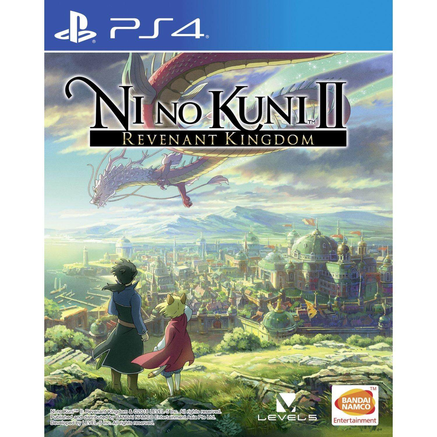 ps4 nino kuni 2 revenant kingdom ( english + zone 3 )