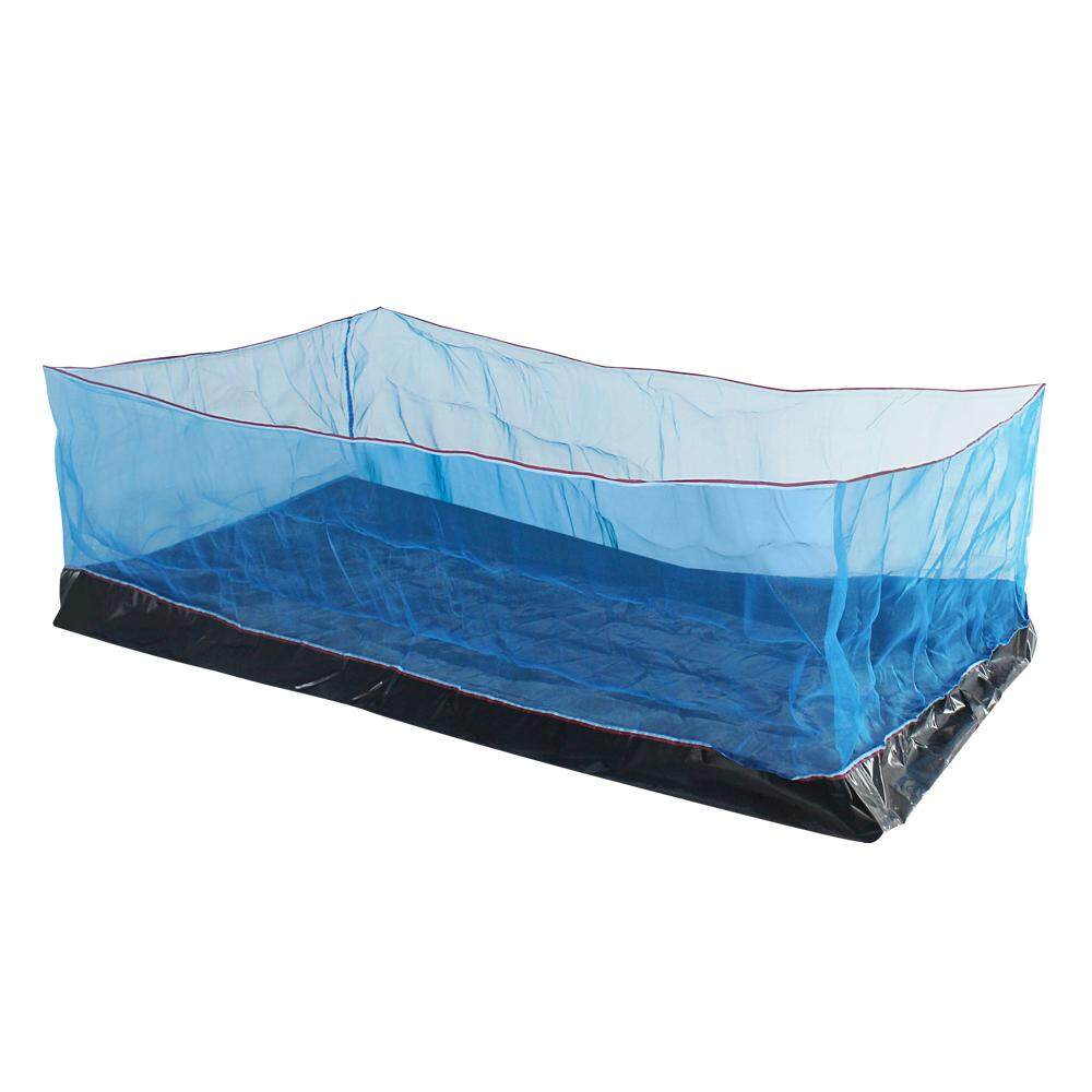 Bigblueกระชังบก สีฟ้า  ขนาด 2*1*1.2m. (02-ม302).