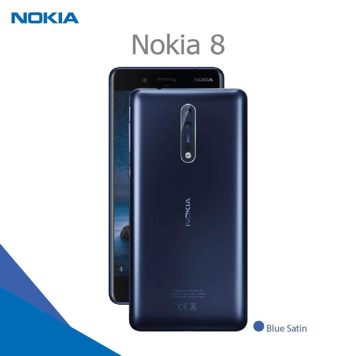 Nokia 8 DualSim Ram 4GB / Rom 64GB