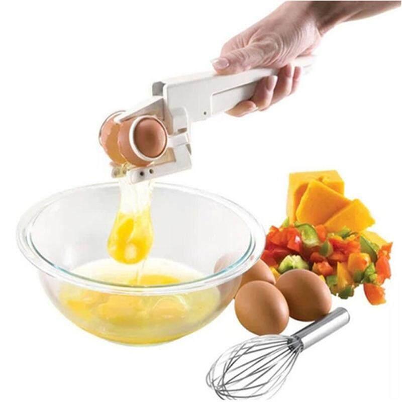 Ez Cracker อุปกรณ์ตอกไข่ เครื่องช่วยประกอบอาหาร ปลอกไข่.