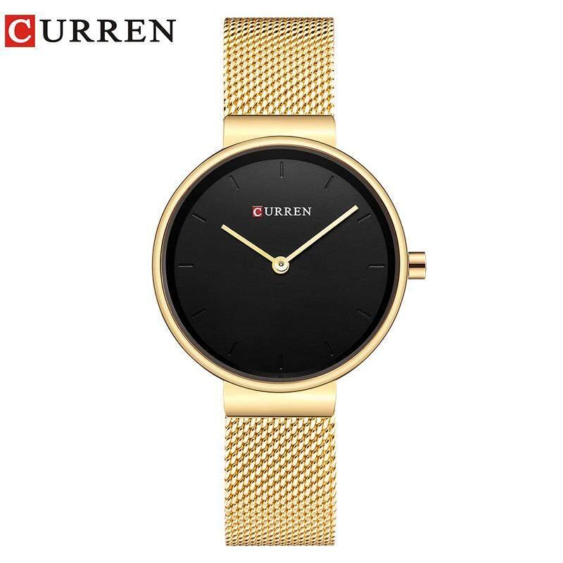 346e24cf86f3 CURREN 9016 Women Watch New Quartz Top Brand Luxury Fashion Wristwatches  Ladies Gift relogio feminino