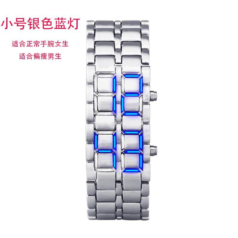Genuine Product Electronic Watch Korean Style Men Fashion Creative LED Cool Students Lava Bracelet Watch Malaysia