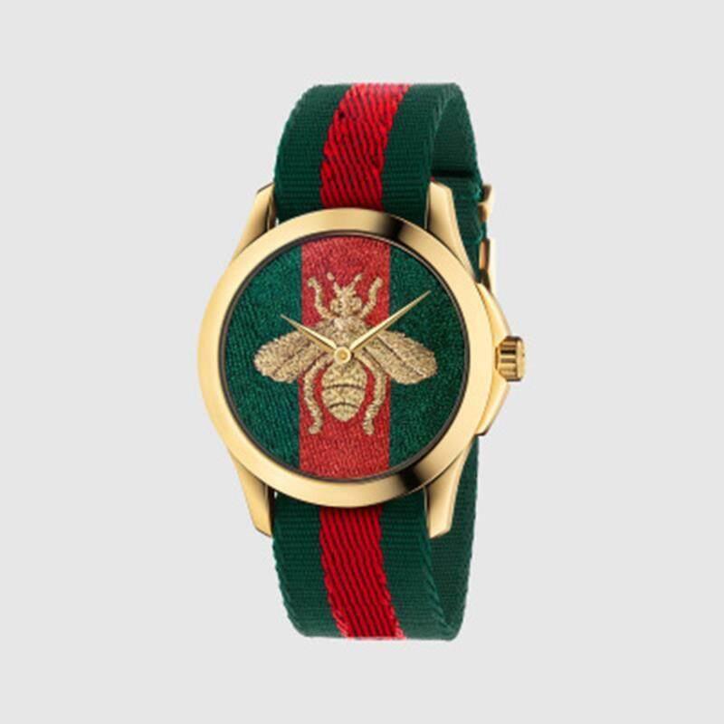 Cmc ผู้หญิงเกาหลีแบบนาฬิกานาฬิกาข้อมือ ผึ้ง และ เสือ รูปแบบนาฬิกาควอตซ์นาฬิกา รุ่น F3-2.