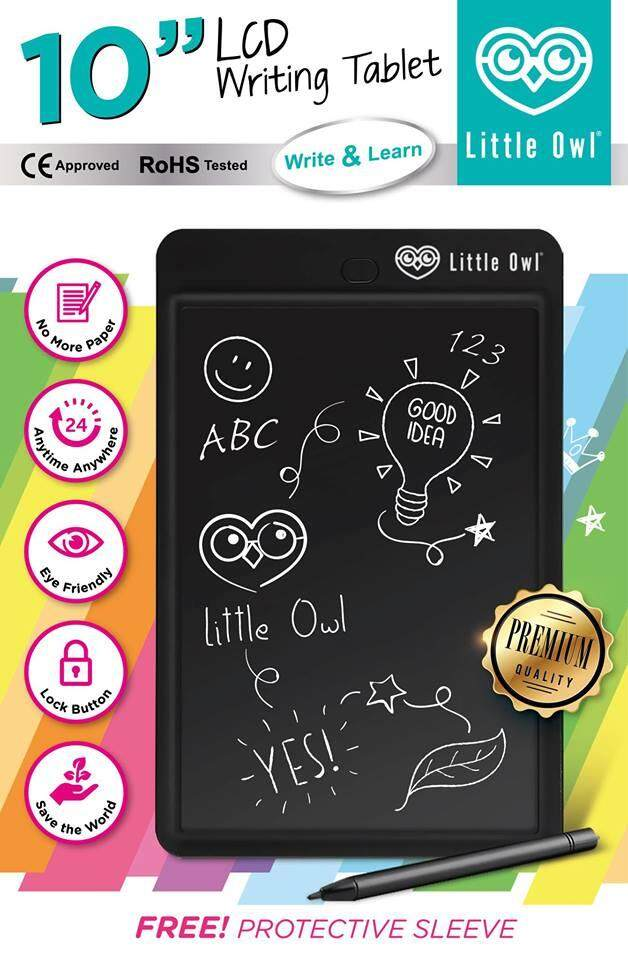 Little Owl กระดานดิจิตอล Lcd เขียนได้.