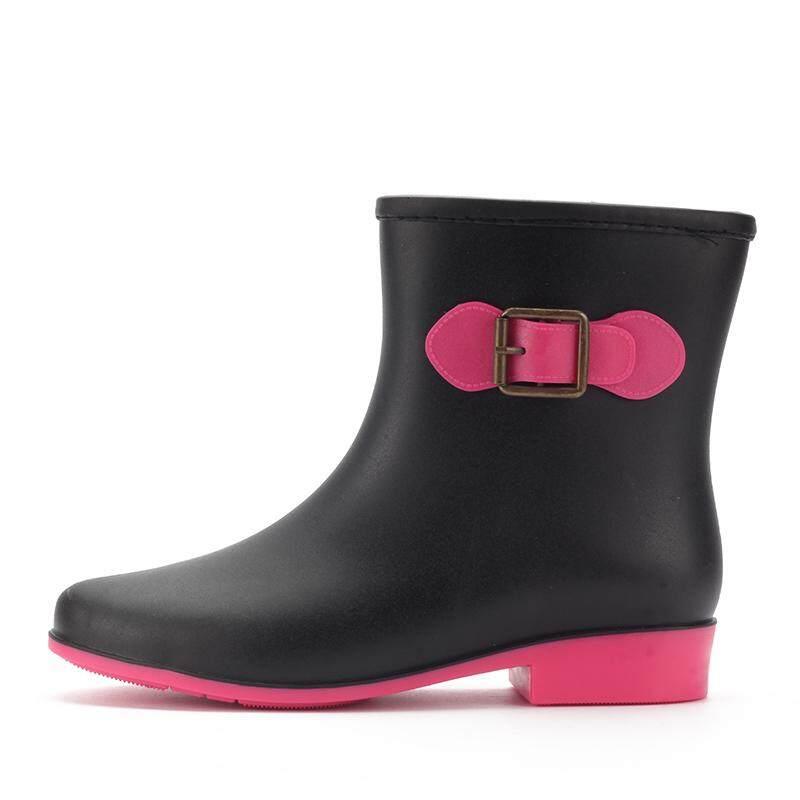 Musim semi dan musim panas jelly sepatu boots hujan wanita Korea Selatan  modis . cd1b7aa85a