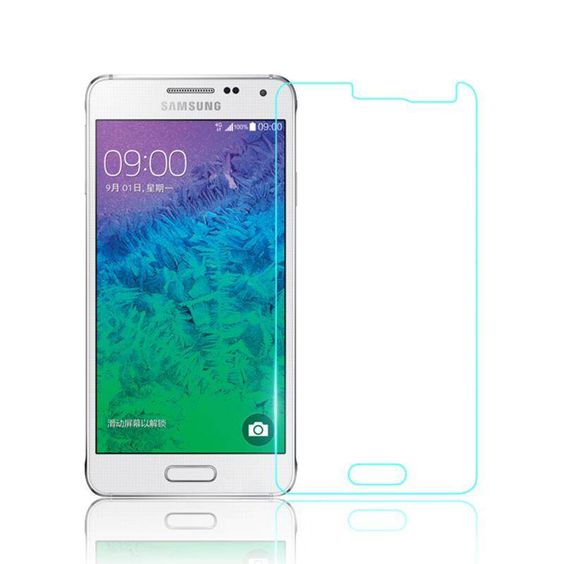3 Pc/lot Anti-Glare LCD Screen Protector For Samsung Galaxy Alpha G850 G850F G8508 G8508S G8509 Protective Film Guard With Retail Package - intl