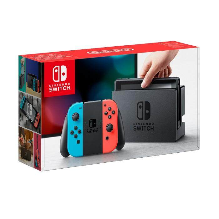 Nintendo Switch [neon Blue And Neon Red Joy-Con].