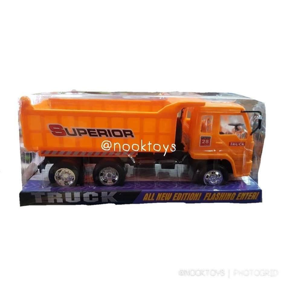 Snook Toys รถดั้มบรรทุกครอบใส.
