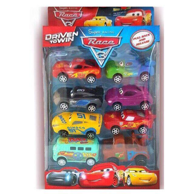 รถแมคควีน แพค 8 คัน ชุดรถ The Cars.