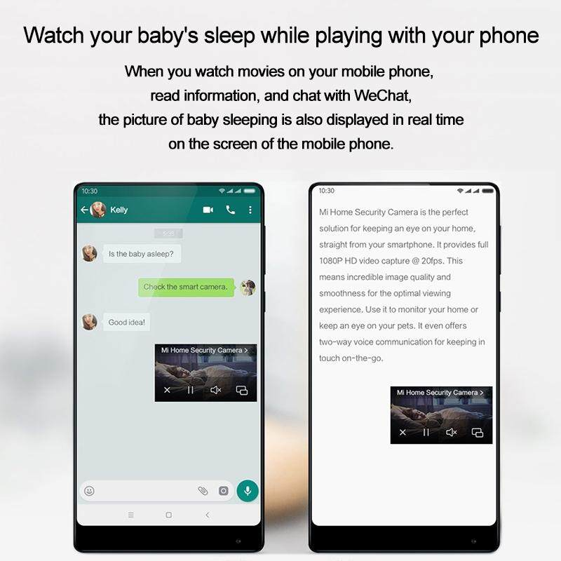 [UPGRADEABLE] XiaoMi Mijia CCTV Mi Home Security Smart Camera 1080P WiFi  (SXJ02ZM) IP Camera 2 4G Wifi Mi Night Vision