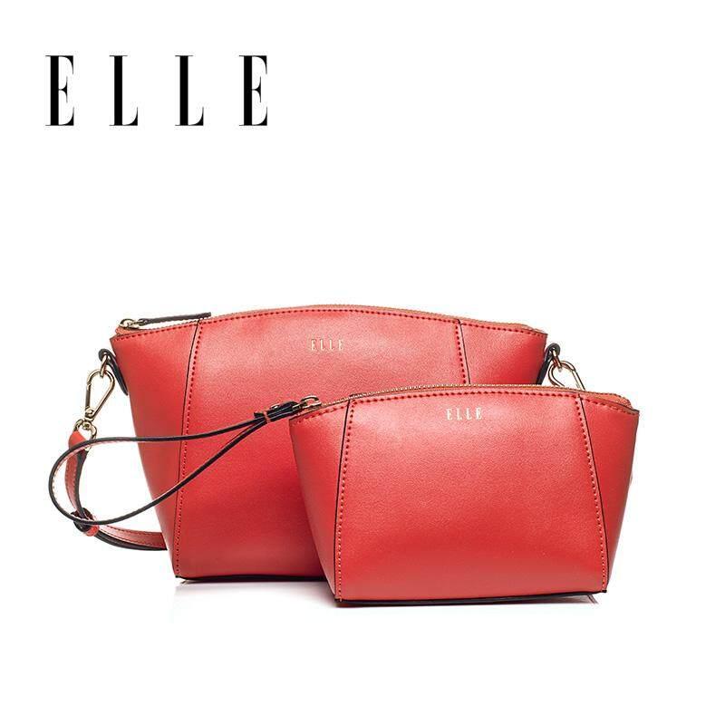 ELLE tas bahu tunggal perempuan 2019 model baru tas wanita 60215 Gaya Barat modis Dutch Lady