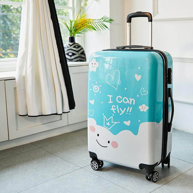 Natural 20 Inch Trolley Case Universal-Wheel Suit Case Luggage Box