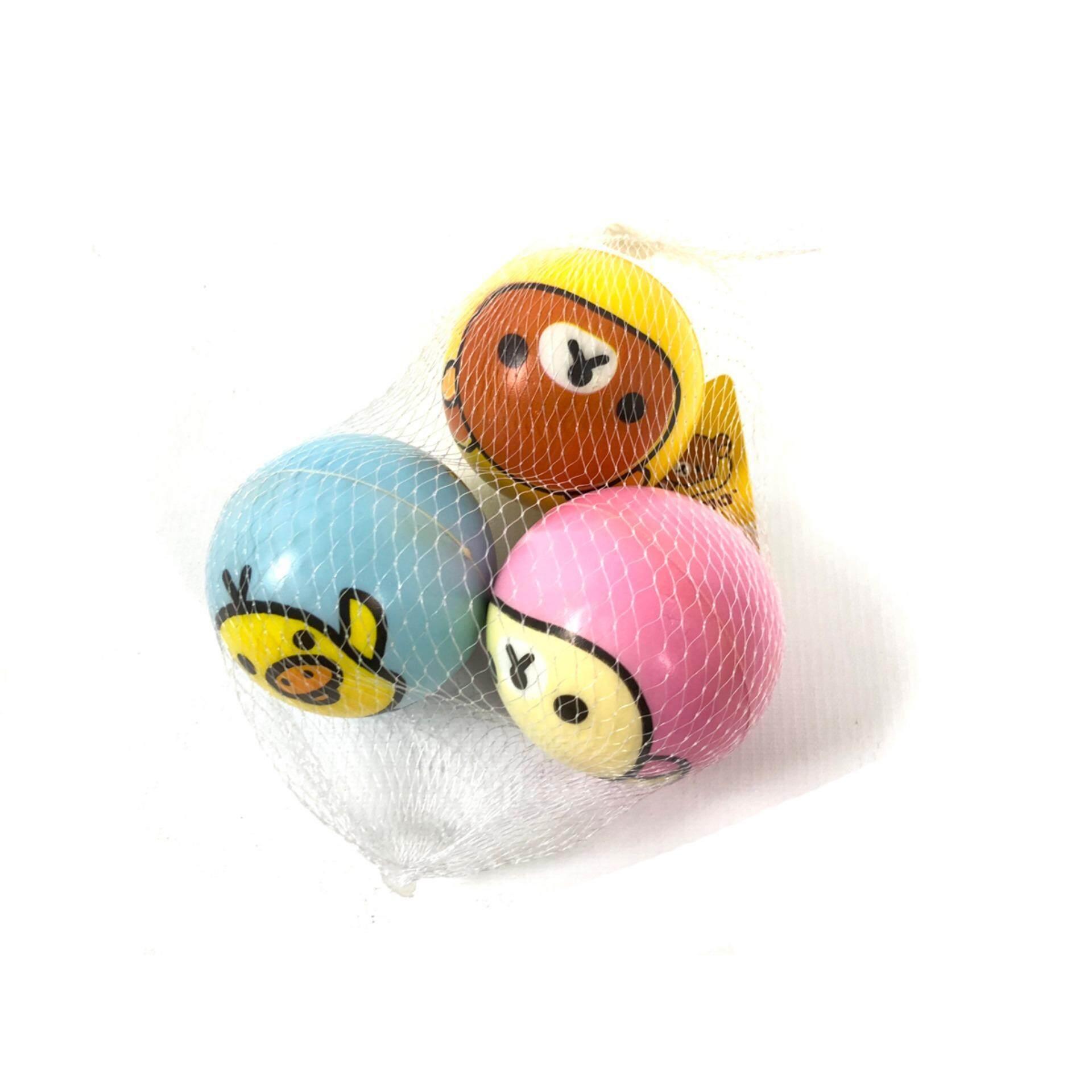 ริลัคคูมะ ของเล่น ลูกซอฟท์บอล 3 ลูก ริลัคคูมะ By Kidtoys.