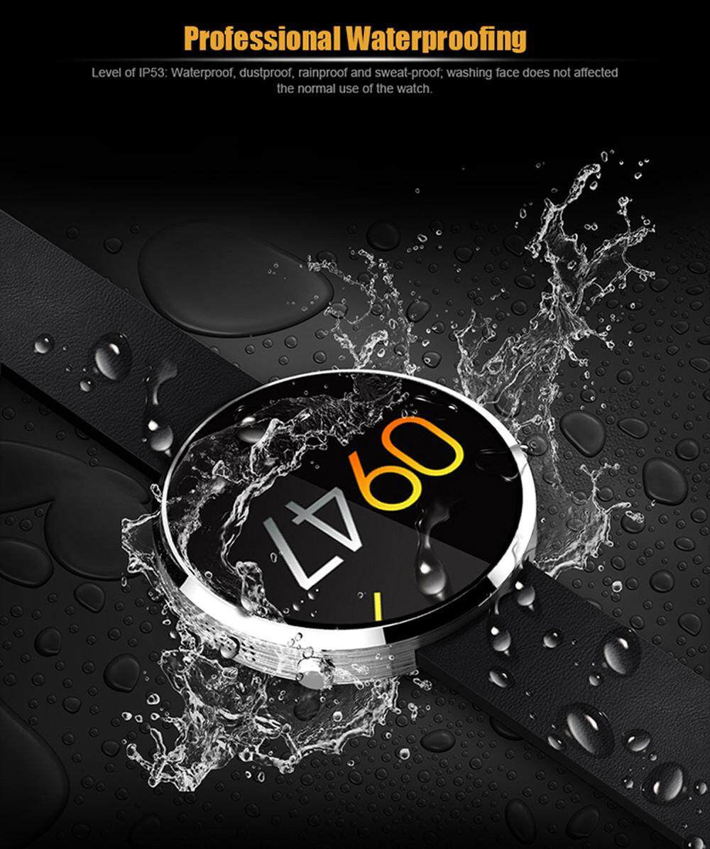 Jual Panas DM360 Jam Tangan Pintar Bluetooth untuk IOS Android Ponsel dengan Monitor Detak Jantung Arloji-Internasional